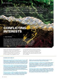 Conflicting Interests - International Institute for Sustainable ...