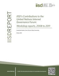 English (PDF - 438 KB) - International Institute for Sustainable ...