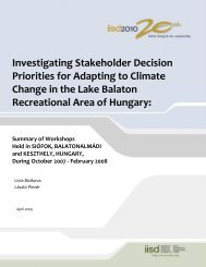 Investigating Stakeholder Decision Priorities for Adapting to Climate ...