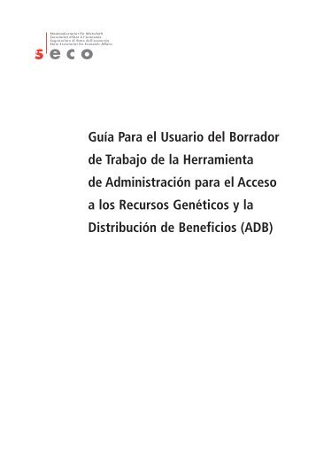 Estándares de Práctica ADB - International Institute for Sustainable ...