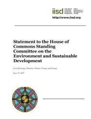 English (PDF - 109 KB) - International Institute for Sustainable ...