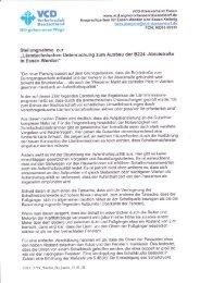 Stellungnahme zur - VCD