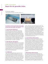 Bauen für ein gesundes Leben Dietmar Walberg