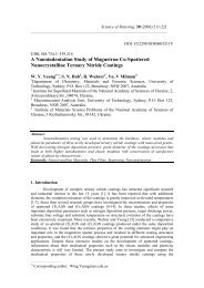 A nanoindentation study of magnetron co-sputtered nanocrystalline ...