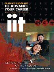 IIT Graduate Enrollment Viewbook 2009 - Illinois Institute of ...