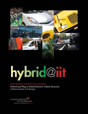Hybrid and Plug-in Hybrid Electric Vehicle Research