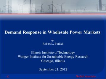 Borlick Associates - Illinois Institute of Technology