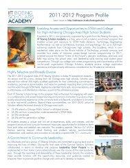 2011-2012 Program Profile - Illinois Institute of Technology