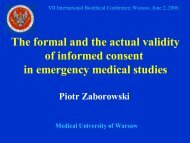 The formal and the actual validity of informed consent in emergency ...