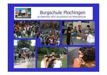Werkrealschule (neuen Typs) - Burgschule Plochingen