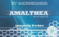 Sponsorship Brochure - Indian Institute of Technology Gandhinagar