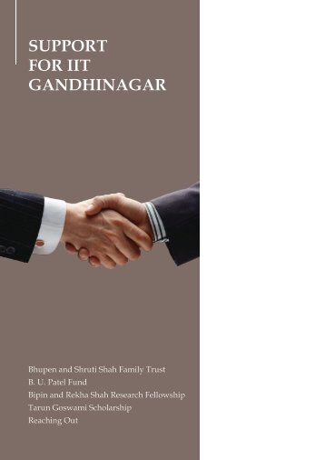 Chapter - Indian Institute of Technology Gandhinagar