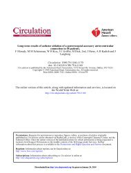 Langberg F Morady, M M Scheinman, W H Kou, J C ... - Circulation