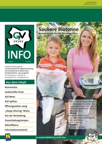 Saubere Biotonne