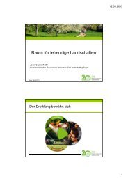 Raum für lebendige Landschaften - Deutscher Verband für ...
