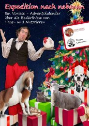 öffnen - Erna-Graff-Stiftung für Tierschutz