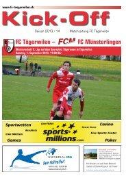 FC Tägerwilen – FC Münsterlingen