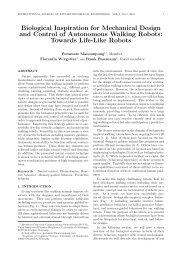 Biological Inspiration for Mechanical Design and ... - ijabme.org