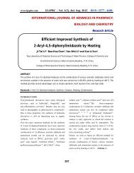 Efficient Improved Synthesis of 2-Aryl-4,5-diphenylimidazole ... - ijapbc