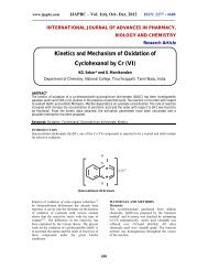 Kinetics and Mechanism of Oxidation of Cyclohexanol by Cr ... - ijapbc