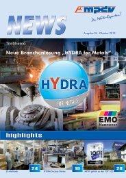 highlights FOR METALS - MPDV Mikrolab GmbH