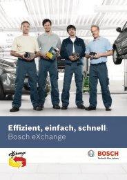 Effizient, einfach, schnell: Bosch eXchange