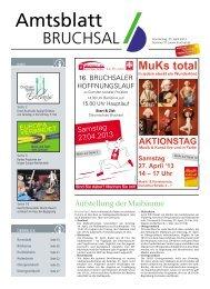 Amtsblatt KW 17/2013 - Bruchsal