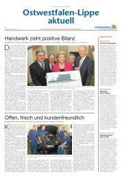 Nr. 5/2013 - Handwerkskammer Ostwestfalen-Lippe zu Bielefeld