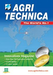 Innovations Magazine - Agritechnica