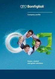 Company profile Power, control and green solutions - Bonfiglioli
