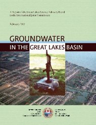 Groundwater in the Great Lakes Basin