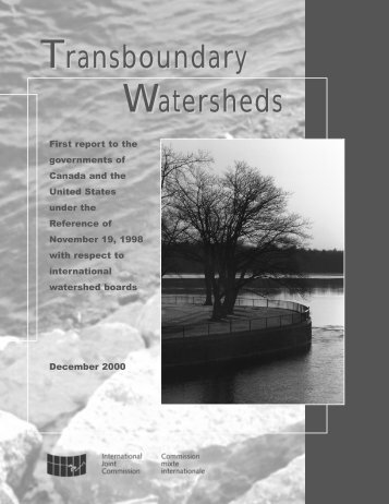 Transboundary Watersheds
