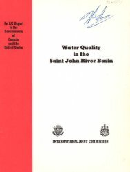 Water Quality in the Saint John River Basin, 1977