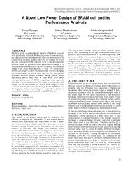 A Novel Low Power Design of SRAM cell and its Performance Analysis
