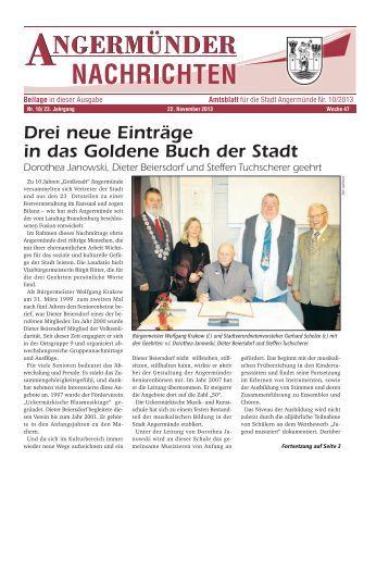 Nr. 10/2013 - Angermünde