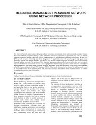 resource management in ambient network using network processor