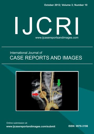 Untitled - International Journal of Case Reports and Images (IJCRI)