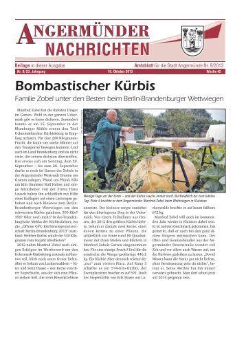 Nr. 09/2013 - Angermünde