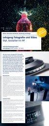 Lehrgang Fotografie und Video Dipl. Gestalter/in HF