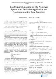 Least Square Linearization of a Nonlinear System with Excitation ...