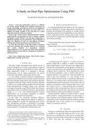 A Study on Heat Pipe Optimization Using PSO - ijcee