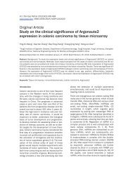 Study on the clinical significance of Argonaute2 expression in ...