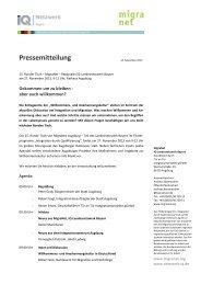 (Bayern): 15. Runder Tisch - Gekommen um zu bleiben - Netzwerk ...