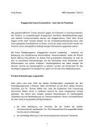 Viola Breuer: Artikel im BBE-Newsletter 15/2013 (PDF)