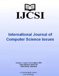 IJCSI proceedings are currently indexed by