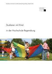 Studieren mit Kind in der Hochschule Regensburg