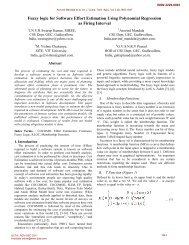 Fuzzy logic for Software Effort Estimation Using Polynomial ...
