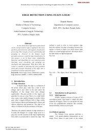edge detection using fuzzy logic - International Journal of Computer ...