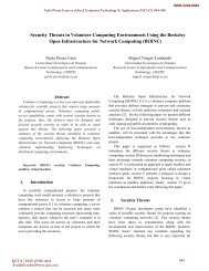 Security Threats in Volunteer Computing Environments Using the ...