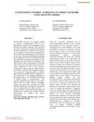 congestion control avoidance in adhoc network - International ...